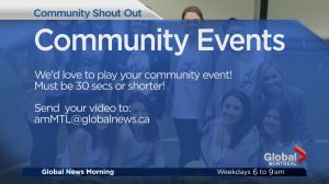Community Events: Yes Montreal