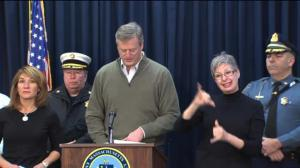 Massachusetts Governor talks latest blast of winter weather