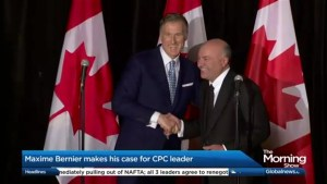 "After being endorsed by ""Mr. Wonderful"" Kevin O'Leary, Maxime Bernier sits down with Jeff McArthur"