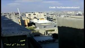 Raw video: Alleged 'roof knocking' in Gaza