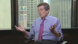 John Tory talks about accountability days before becoming mayor of Toronto