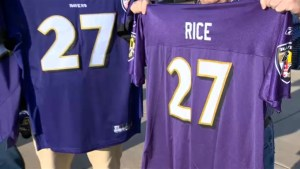 Massive lineup to return Ray Rice jerseys