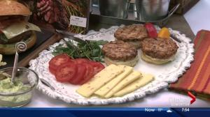 Lorraine on Location Part 2: Burgers with ATCO Blue Flame Kitchen