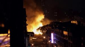 Raw video: Series of deadly explosions in Taiwan