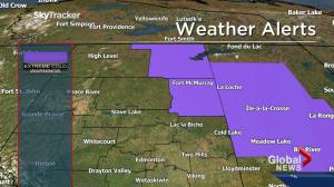 Cold weekend in store for parts of central, northern Alberta