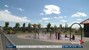 Heat warnings and fire bans in place throughout Alberta