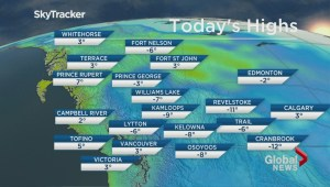 BC Evening Weather Forecast: Jan 14
