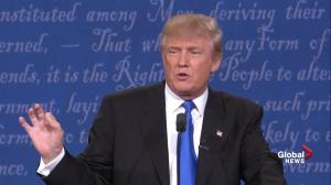 Presidential debate: Donald Trump says Hillary Clinton has been fighting ISIS 'her whole adult life'