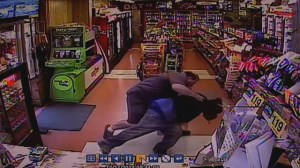 Beer deliveryman foils convenience store robbery in-progress