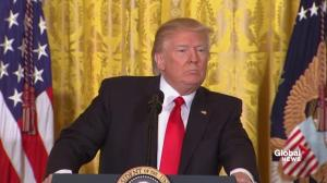 'I have nothing to do with Russia': President Trump