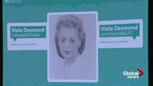 Nova Scotia's Viola Desmond to appear on new Canadian $10 banknote