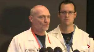 Doctors at PeaceHealth Sacred Heart Medical Center describe injures to UCC shooting victims