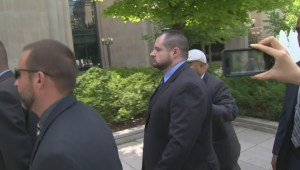 Toronto Police Const. James Forcillo arrives in court for sentencing in death of Sammy Yatim