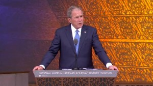 "Bush says African museum shows ""commitment to truth"""