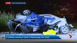 Grade 7 student among three killed in Mississauga crash