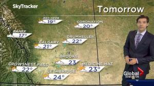 Edmonton Weather Forecast: May 31