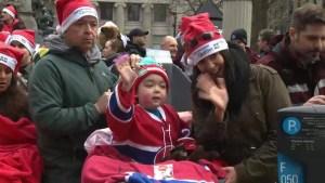 66th Santa Claus Parade brings joy to sick kids