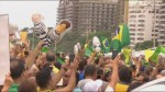 Thousands call for impeachment of Brazil's president