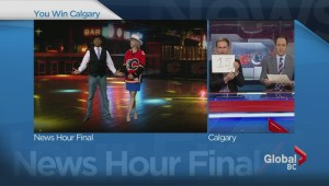 Anne and Shanel dance the two-step after losing bet to Global Calgary