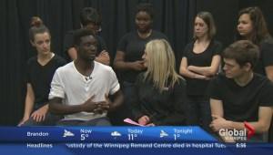Sarasvàti Productions talking mental health in Winnipeg schools