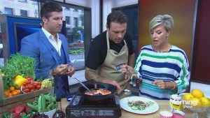 Chef Chuck Hughes on making food sustainable