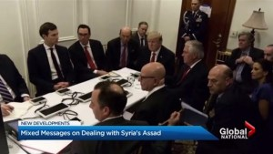 Trump administration sends mixed messages on Syria