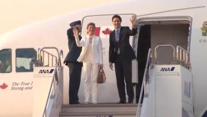 Trudeau arrives in Japan ahead of G7 summit
