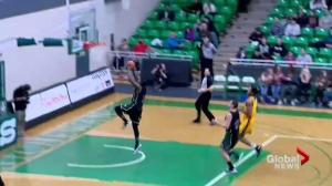 Saskatchewan Huskies Jaylan Morgan turns heads in Canada West