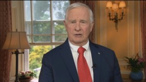 Governor General David Johnston's Canadian Day message
