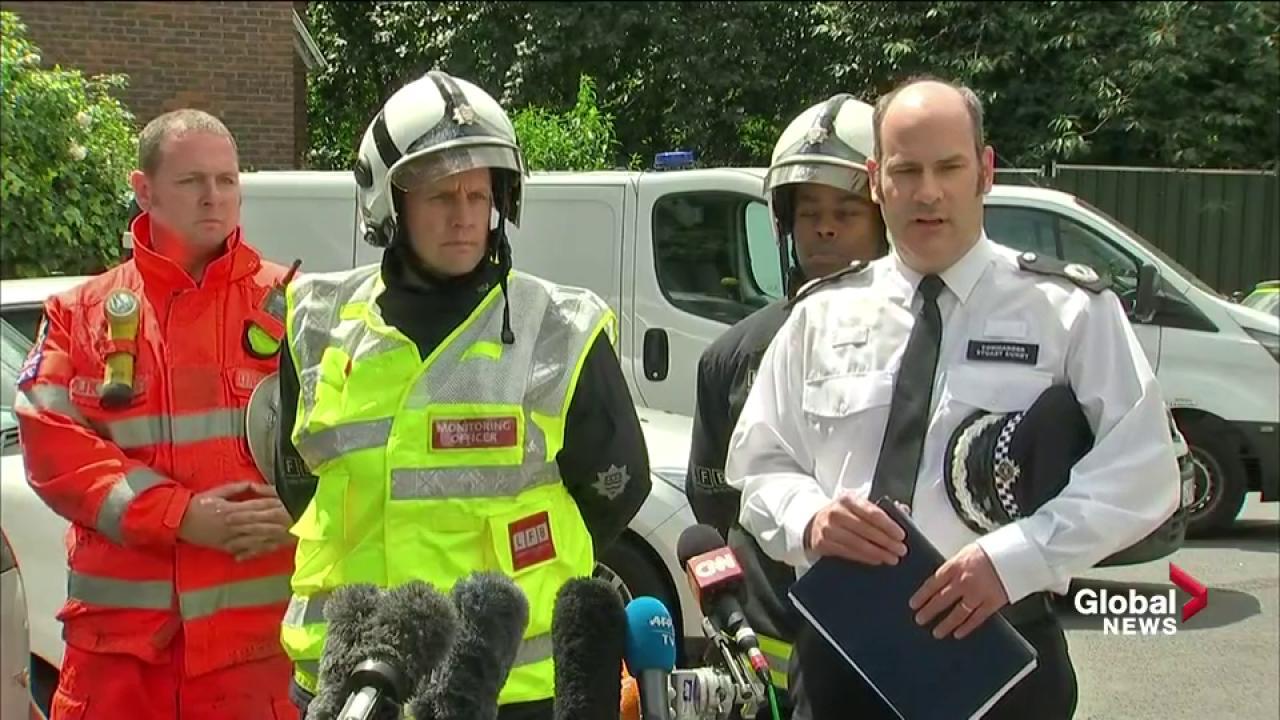 United Kingdom  opposition leader slams Grenfell Tower fire response