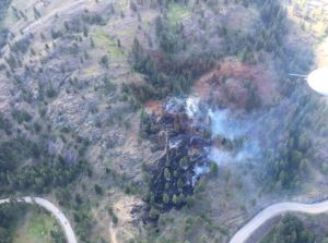 Wildfire near West Kelowna brought under control