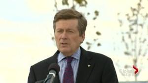 Mayor announces new developments for Toronto's waterfront