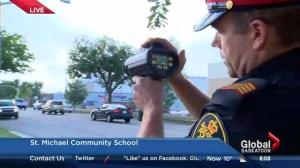 Saskatoon school zones speed limits