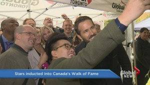 Too much fun on Canada's Walk of Fame red carpet