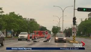 St-Jean Boulevard construction causing delays