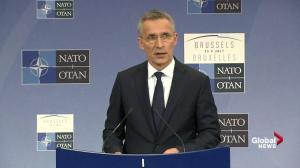 NATO reaffirmed anti-Russia stance at summit: Jens Stoltenberg