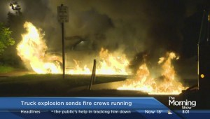 Scary moment for firefighters in Scarborough