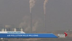 Air pollution causes premature deaths: UBC study