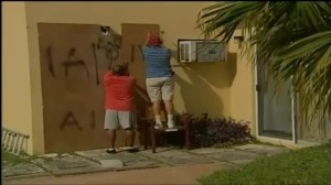 Bermuda residents prepare as Hurricane Gonzalo  bears down on them
