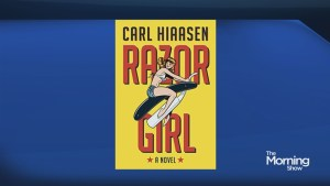 Best selling author Carl Hiaasen new work, 'Razor Girl'