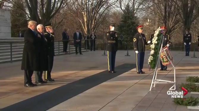 trump pledges unify inauguration