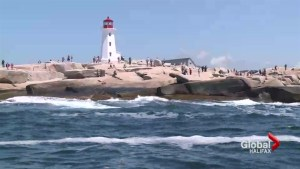Crew rescues man off Peggy's Cove