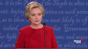 Presidential debate: Trump agrees with Clinton on restricting firearms access to those on no-fly list