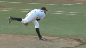 Homegrown Edmonton Prospects pitcher turns heads