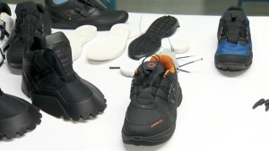 Quebec company develops self-lacing shoes