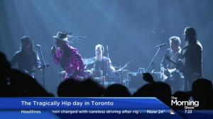 The Tragically Hip tour kicks off 3 concert stop in Toronto