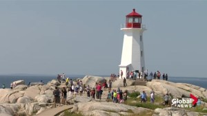 Peggys Cove sees increase in visitors