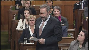 Mulcair wants Harper to give example to justify new CSIS power in anti-terror bill