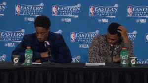 Lowry, DeRozan recap huge Game 5 loss, say Cavs play well on home court