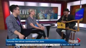 From taxi driver to Juno nominee